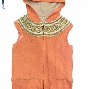 Free people sweater vest size small